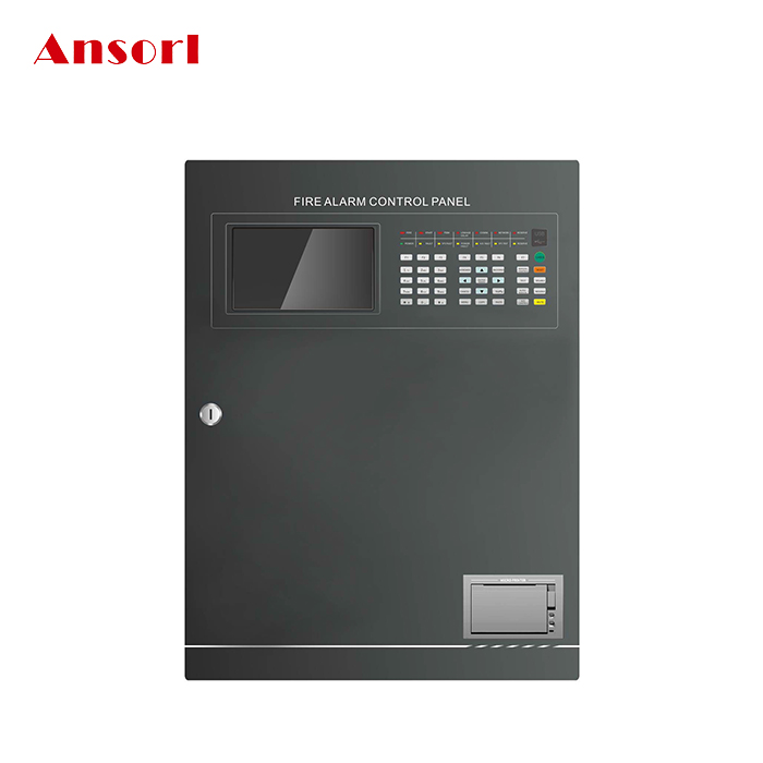 2-16 Loops Addressable Fire Alarm Control Panel AS-9108E